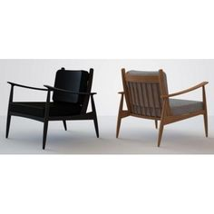 Frederik - Walnut Lounge Chair by And Then Design