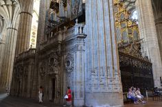 Salamanca - New Cathedral Choir &Two Organs From North Aisle