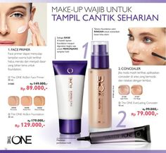 Promo Harga Diskon Rangkaian The ONE Make Up Katalog Oriflame September 2016