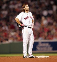 Johnny Damon, Boston Red Sox, before he went to the dark side... DSD