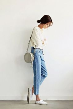 Tendance Basket 2017 140 Best Idea to Wear High Waisted Denim Outfit Style fasbest.com/