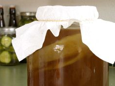 Kombucha, from Russia, is a widely known and loved fermented, probiotic beverage. Both sweet and sour and naturally carbonated by fermenting gases, many people drink it like soda. Purported health benefits of drinking kombucha are: cancer prevention, arthritis treatment, improved digestion and immune booster. Just a few ounces a day can be helpful in any of these issues! http://gnowfglins.com/2008/09/05/kombucha-recipe/