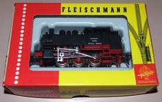Vintage Fleischmann 1321 Steam Train  Engine, HO Scale, Made In Germany   by France1978