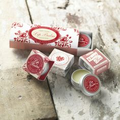 Country Market Gingham Lip Balm