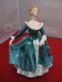 shopgoodwill.com: ROYAL DOULTON Bone China Figurine Made In England