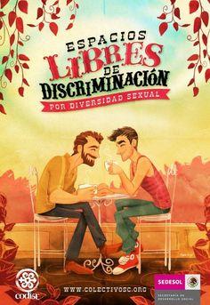Espacios libres de discriminación para el pink market/mercado rosa #LGBT