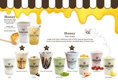 Honey Mee Drink Menu