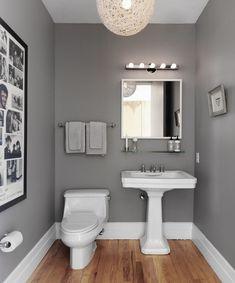 25+ Classy Gray Bathroom Designs #bathroom #bathroomideas #bathroomdecor
