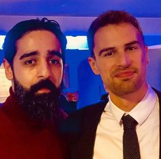 #NEW┇New picture of Theo and Kardo Razzazi at the Backstabbing for Beginners premiere after-party, yesterday night, in Copenaghen!