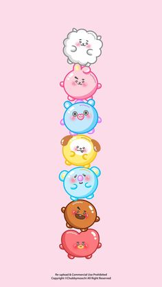 BT21 WALLPAPERS ♡