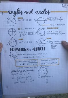 My friend's math notes for a geometry class. : PenmanshipPorn Source by No related posts. Math Notes, Science Notes, Class Notes, School Notes, Gcse Maths Revision, Revision Notes, Study Notes, School Study Tips, Life Hacks For School
