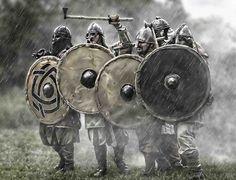 Best nordic fighting weather :-) http://thecasperart.deviantart.com/art/The-vikings-393208822