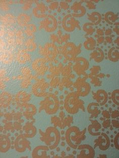 Patterned accent wall