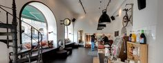 hostel lobby // city backpackers, stockholm, sweden