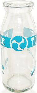 トモヱ牛乳昭和50~60年代ボトル | 古河市