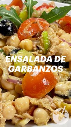 Healthy Recepies, Healthy Salad Recipes, Vegetarian Recipes, Dairy Free Recipes, Mexican Food Recipes, Real Food Recipes, Cooking Recipes, Yummy Food, Savory Salads