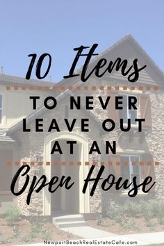 10 Items to never leave out an open house Real Estate Marketing Tips for Realtors and For Sale By Owners! Real Estate Career, Selling Real Estate, Real Estate Tips, Sell Your House Fast, Selling Your House, Home Staging Tips, House Staging Ideas, House Ideas, Decorating Ideas