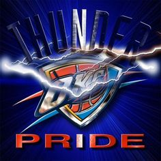 Thunder pride Oklahoma City Thunder Basketball, Basketball Teams, Sports Teams, Thunder Team, Rose Nba, Nba Chicago Bulls, Larry Bird, Dallas Mavericks, Detroit Pistons