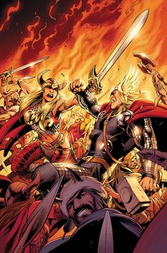 Thor by Alan Davis