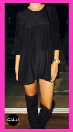 DRESS  #dress + #modeloVIC + #totalblack  SaTuRdAy NiGhTeNjOy