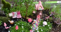 DIY fairy gardens are the latest trend. Delight your child and create some make believe magic with these ideas.
