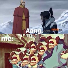 The Legend of Korra/Avatar the Last Airbender: all the foam mouth