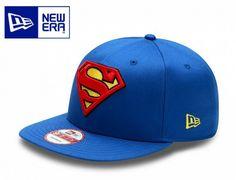 Superman Kappe von New Era. Foto genommen von www.capuniverse.de