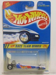 Hot Wheels 1994 Race Team Series Dragster Light Blue   eBay