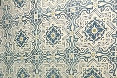 Moroccan-inspired Patterned Wallpaper for accent wall in master bedroom