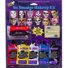 No Smudge Family Makeup Kit by Fun World | Fun World 9549 | Halloween Costume Accessories | Halloween Makeup - American Sale