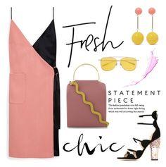 """Fresh&Chic"" by erindream ❤ liked on Polyvore featuring Mulberry, Roksanda, AMBUSH, J.W. Anderson and Giambattista Valli"