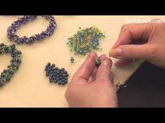 Spiral Rope Seed Bead Technique Mini Tutorial Video with Cynthia Kimura