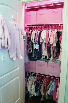 Another idea for our tiny closet