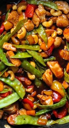 "kung pao chicken. Done in just 25 minutes. You will never order this for take out. Super easy and healthier. <a class=""pintag"" href=""/explore/glutenfree/"" title=""#glutenfree explore Pinterest"">#glutenfree</a>"