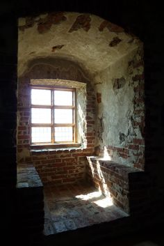 Turun linna Castle, Turku. Finland  Ancient Breakfast Nook!!