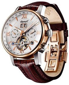 There's something about this watch that reminds me of the golden compass book by Phillip Pullman.