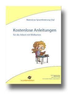 Bildkarten zur Sprachförderung : Anleitungen für Übungen und Sprachspiele Deutsch kostenlos