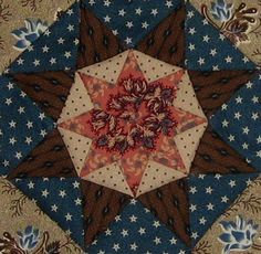 Harrisburg (PA) Quilt block Barbara Brackman Civil War Quilt