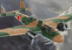 Mitsubishi G3M2 Type 96 'Nell' by Valery Petelin