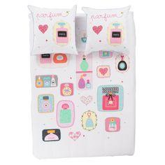 Parure de lit LOVELY - Parures de lit enfant - CARRE BLANC