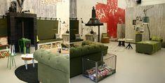 VT Wonen Huis op de Woonbeurs Amsterdam - Industrieel Wonen met VT Wonen Meubels & Woonaccessoires in de Huiskamer LEES MEER.. (Foto vtwonen huis door DroomHome.nl)