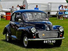 Morris Minor in black please! Ours was called Meg the mog. She needed too much welding! But she was fine.
