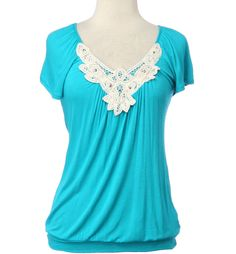 Cold Shoulder Crochet- $18.99 at Rue 21.#Repin By:Pinterest++ for iPad#