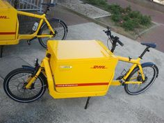 DHL Bullitt | in the Netherlands, DHL chooses the fastest cargobikes