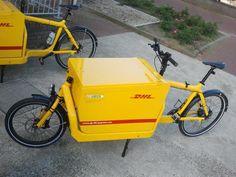 DHL Bullitt   in the Netherlands, DHL chooses the fastest cargobikes