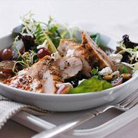 Get a head start on all of our chicken salad recipes and grill 6 - 8 breasts at once (or however many you need for your family). Then you can quickly assemble the Grilled Chicken Salad.