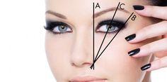 Evde Kaş Alma Tekniği- taking a step by step eyebrow
