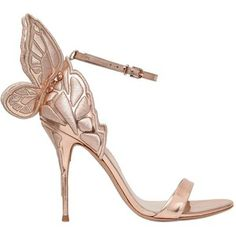 Sophia Webster Women 100mm Chiara Metallic Leather Sandals