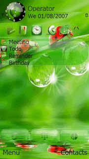12 Best Mobile Themes images in 2013 | Asha 202, Clock, Clocks