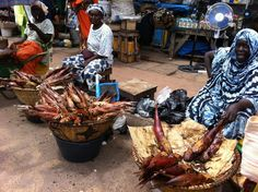 Serakunda, Gambia. África